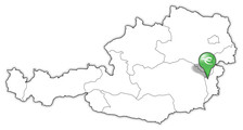 Landkarte Pinkafeld