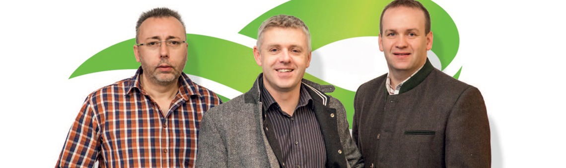 envotec Gmbh Team - Karl Kirchsteiger, Martin Ulreich, Harald Kager